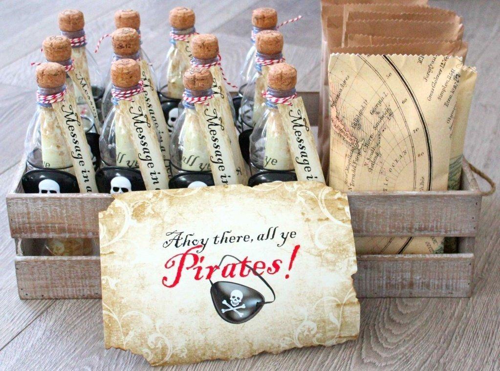 ТОП-5 идей оформления пригласительных для пиратской вечеринки - фото 1 | 4Party