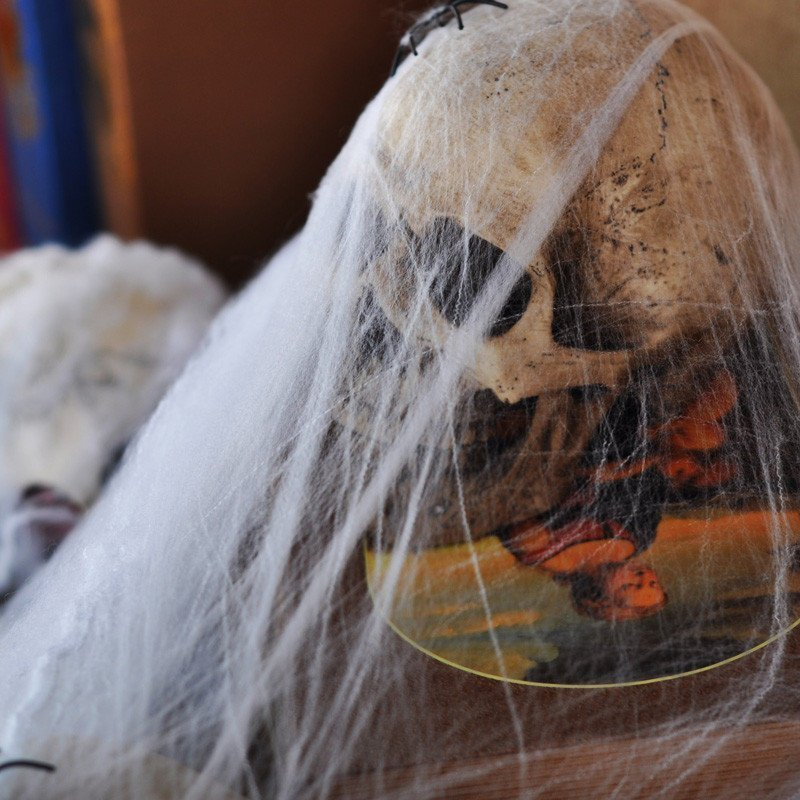 Как сделать паутину на Хэллоуин - фото 5 | 4Party