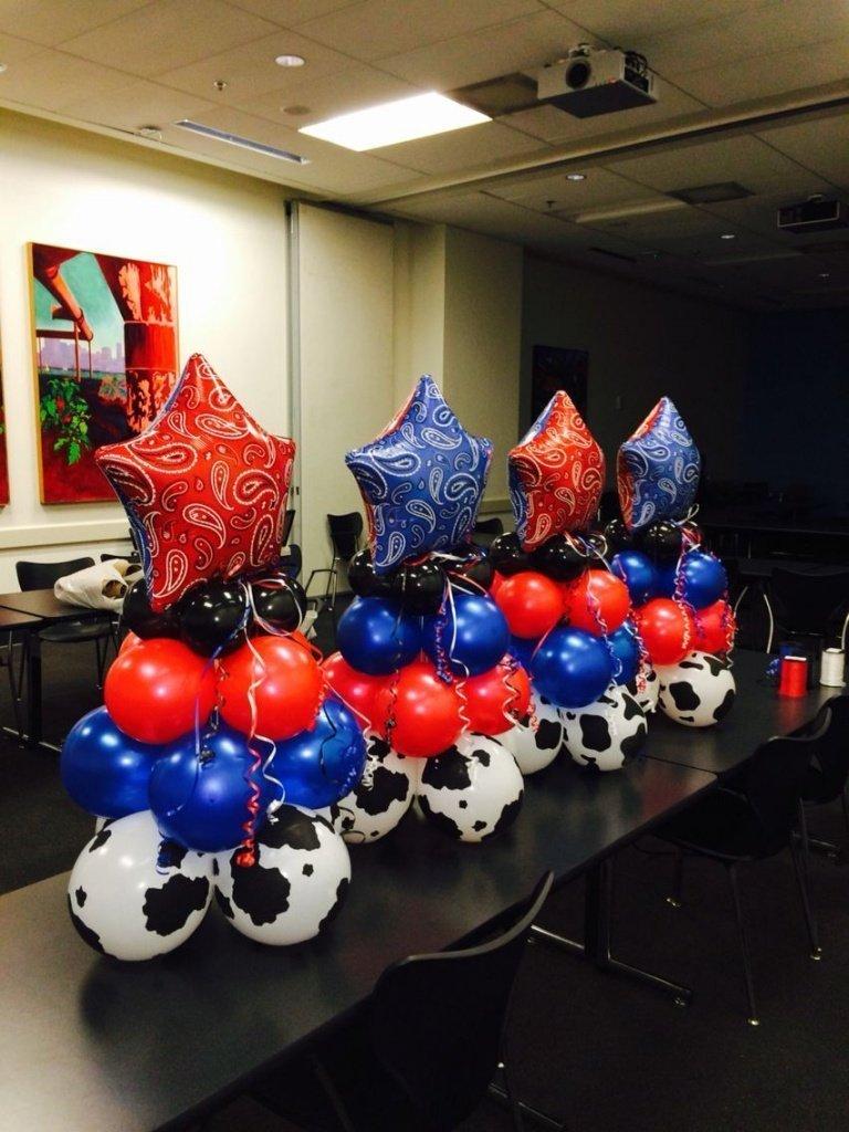 Оформление шарами вечеринки в ковбойском стиле - фото 1 | 4Party