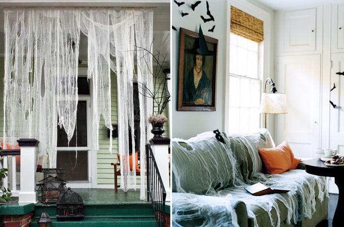 Как сделать паутину на Хэллоуин - фото 6 | 4Party