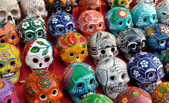 Образ на Хэллоуин и День Мертвых: Санта Муэрте - фото 2 | 4Party