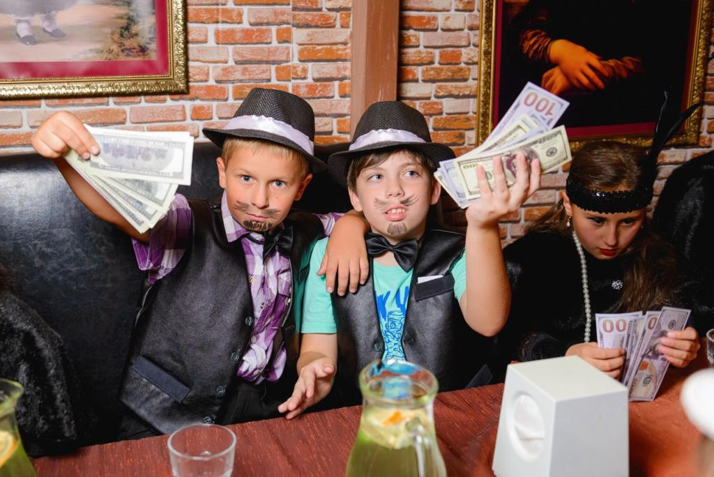 Детская вечеринка в стиле мафия - фото 5 | 4Party