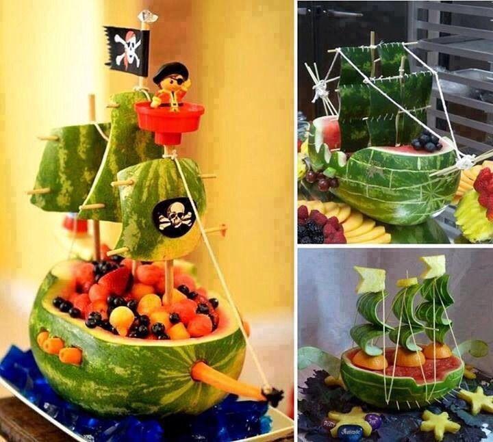 Меню для пиратской вечеринки - фото 5 | 4Party