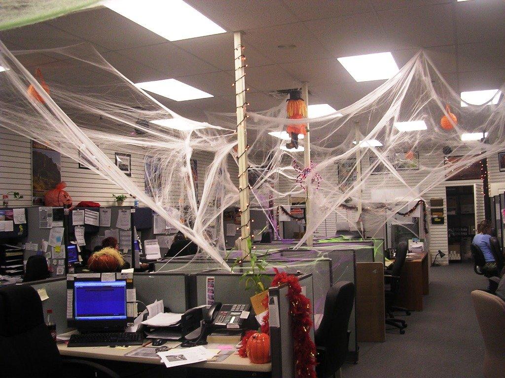 Декор офиса на Хэллоуин - фото 2 | 4Party