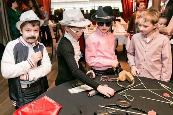Детская вечеринка в стиле мафия - фото 2 | 4Party