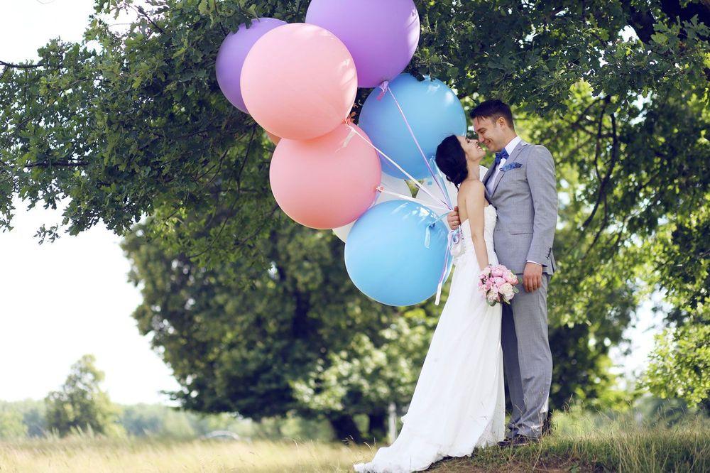 Воздушные шары на свадьбе: идеи оформления праздника - фото 3 | 4Party