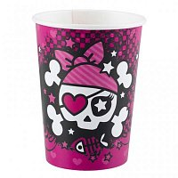 Стаканы Pink Pirate 8