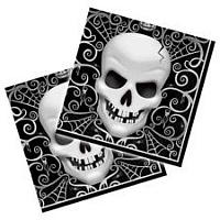 Салфетки со скелетами
