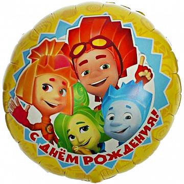 Воздушный шар с персонажами Фиксиков