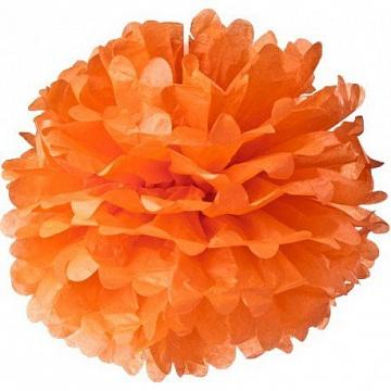 Оранжевый помпон для вечеринок в стиле Тысяча и одна ночь