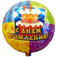 Фольгированные шары ко дню рождения - 4party